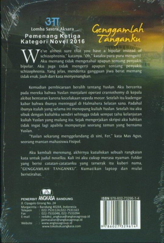 Cover Belakang Buku Genggamlah Tanganku