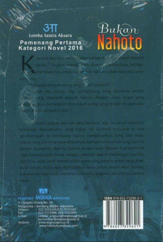 Cover Belakang Buku Bukan Nahoto