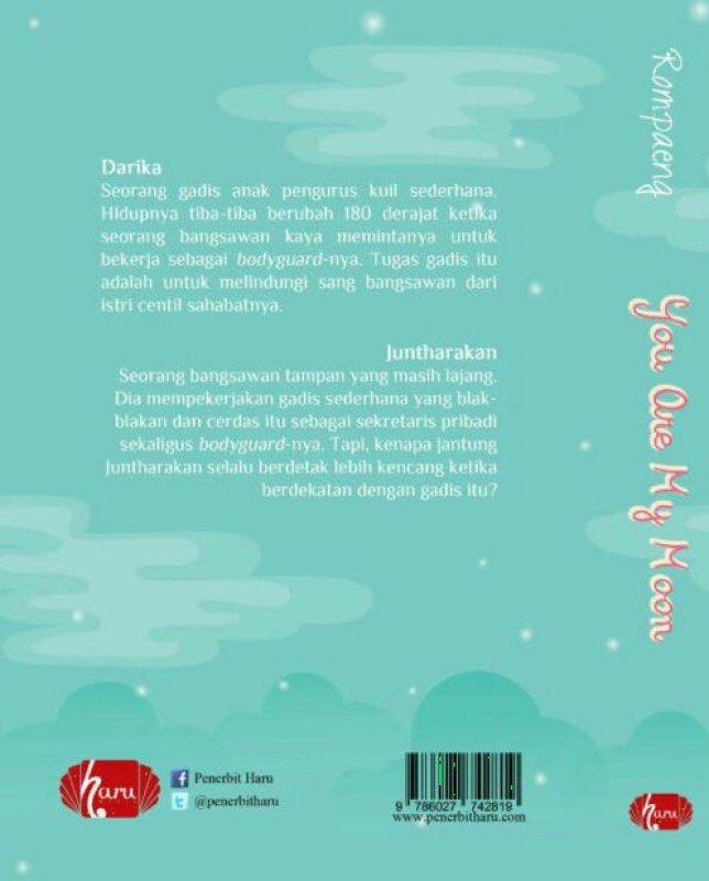 Cover Belakang Buku You Are My Moon