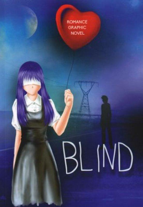 Cover Buku Blind (Edisi Graphic Novel)