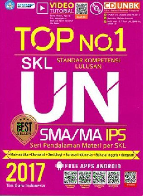 Cover Buku TOP NO.1 SKL UN SMA/MA IPS 2017