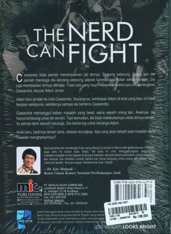 Cover Belakang Buku The Nerd Can Fight