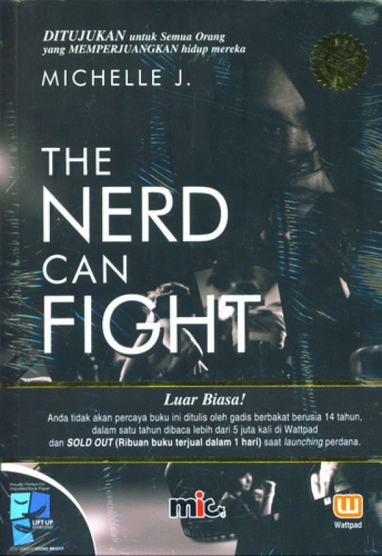 Cover Buku The Nerd Can Fight