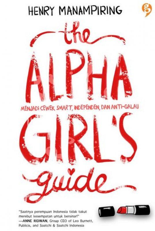 Cover Buku The Alpha Girls Guide (NON TTD)