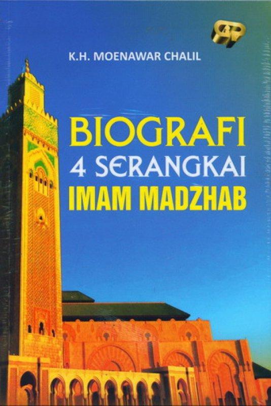 Cover Buku Biografi 4 Serangkai Imam Madzhab