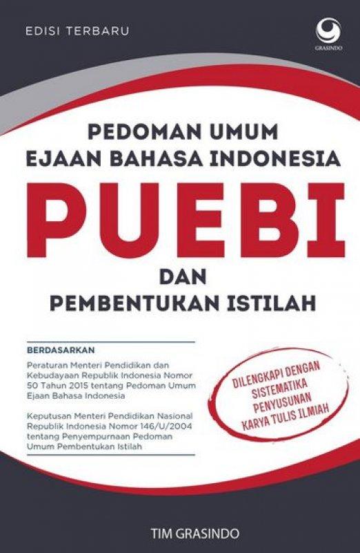 Cover Buku Pedoman Umum Ejaan Bahasa Indonesia & Pembentukan Istilah