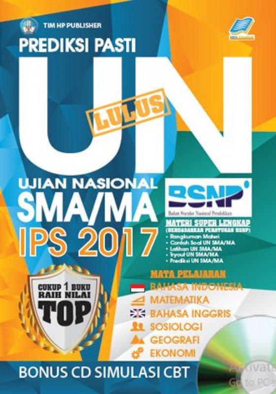 Cover Buku Prediksi Pasti Lulus UN SMA/MA IPS 2017 [Bonus CD SIMULASI CBT]