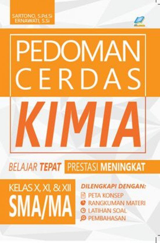 Cover Buku Pedoman Cerdas Kimia SMA/MA