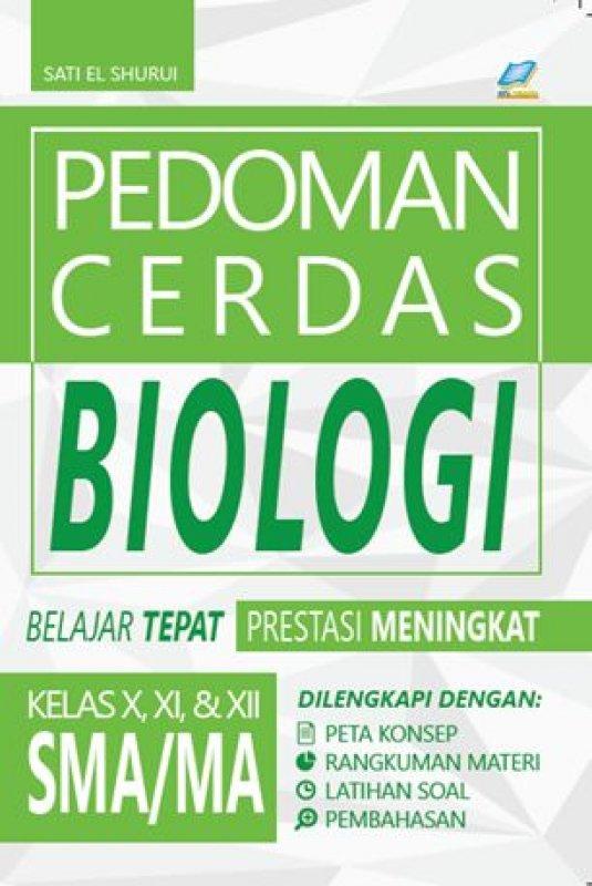 Cover Buku Pedoman Cerdas Biologi SMA/MA