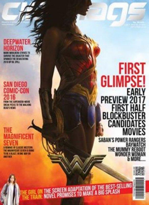 Cover Buku Majalah Cinemags Cover Wonder Woman | Edisi 205 - September 2016