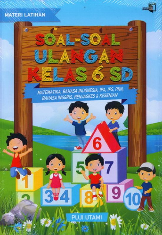 Cover Buku Soal-Soal Ulangan Kelas 6 SD