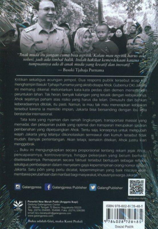 Cover Belakang Buku Jakarta Baru Kita Mulai: Mewujudkan Ibu Kota Bermartabat & Manusiawi