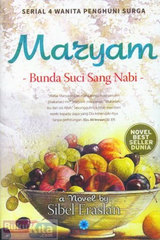 Cover Maryam: Bunda Suci Sang Nabi