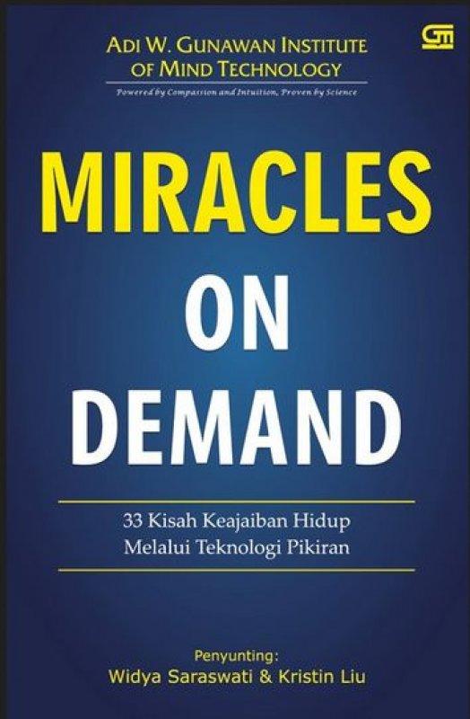 Cover Buku Miracles on Demand