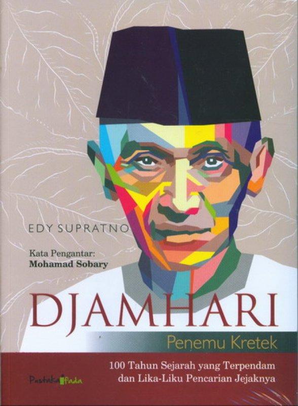 Cover Buku Djamhari Penemu Kretek