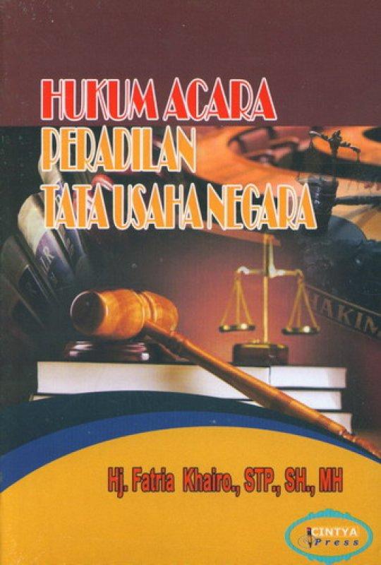 Cover Buku Hukum Acara Peradilan Tata Usaha Negara