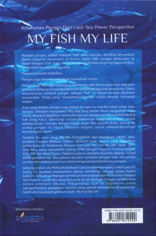 Cover Ketahanan Pangan Dari Laut: Sea Power Perspective [My Fish My Life]