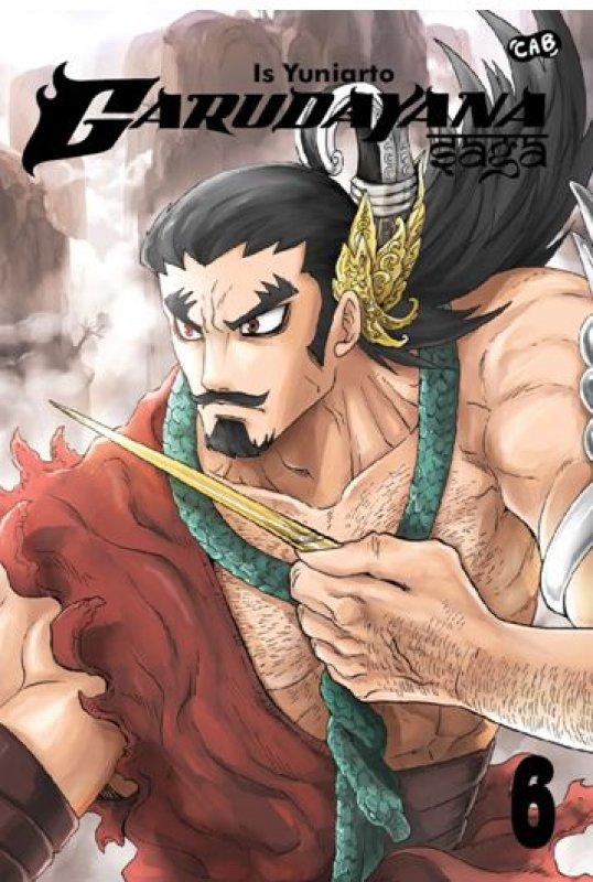Cover Buku Garudayana Saga 6