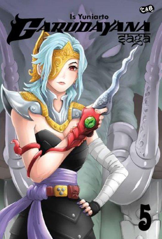 Cover Buku Garudayana Saga 5-New