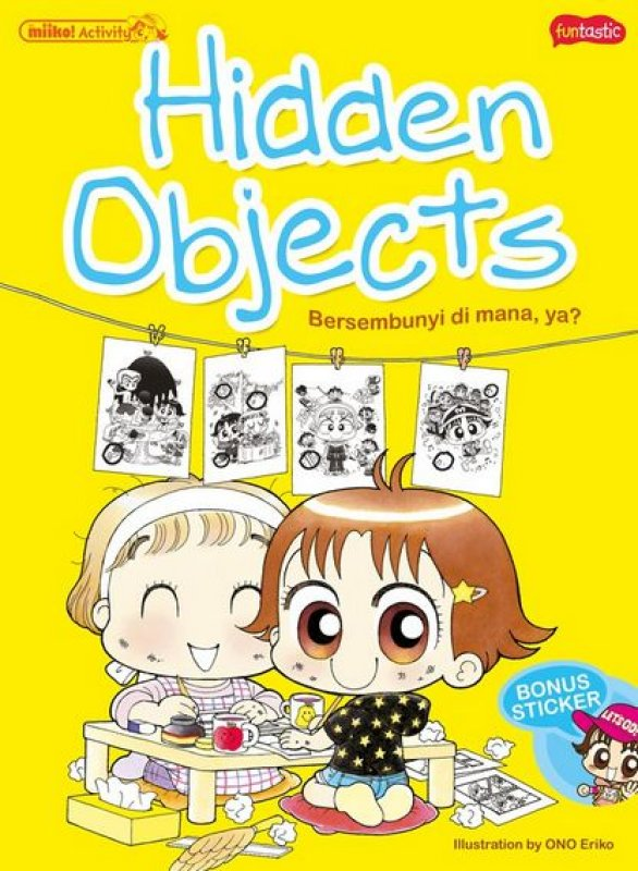 Cover Miiko Activity - Hidden Objects