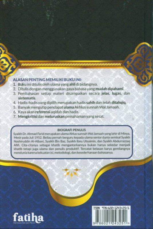 Cover Belakang Buku Syarah Akidah Ahlus Sunnah Wal Jamaah ( Buku sisa mau di retur )