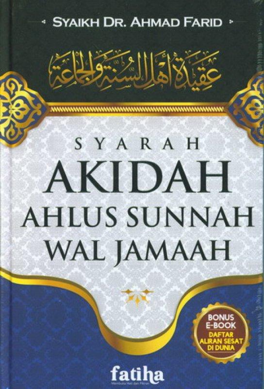 Cover Buku Syarah Akidah Ahlus Sunnah Wal Jamaah ( Buku sisa mau di retur )