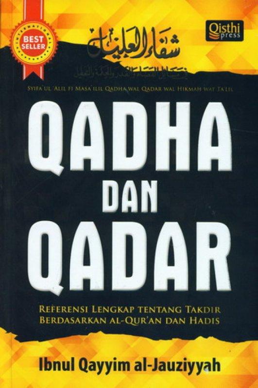 Cover Buku QADHA DAN QADAR
