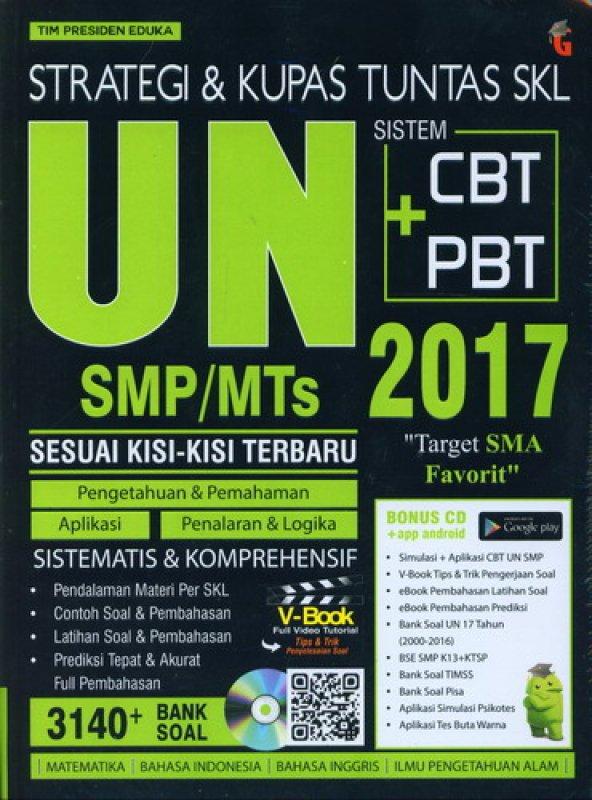 Cover Buku STRATEGI & KUPAS TUNTAS SKL UN SMP/MTs IPA 2017