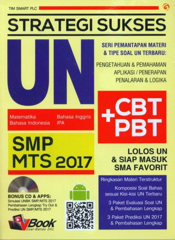 Cover Buku STRATEGI SUKSES UN SMP MTS 2017