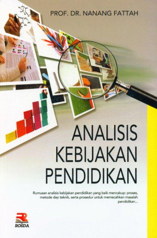 Cover Buku Analisis Kebijakan Pendidikan