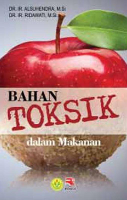 Cover Buku Bahan Toksik Dalam Makanan