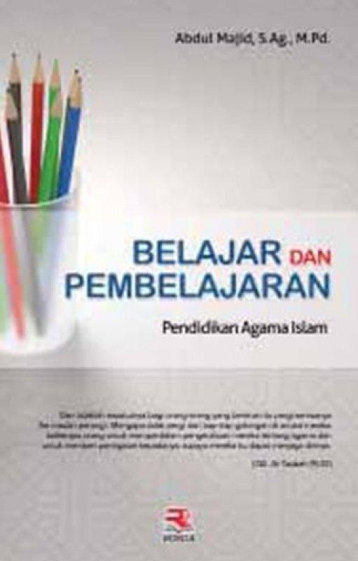 Cover Buku Belajar dan Pembelajaran Pendidikan Agama Islam