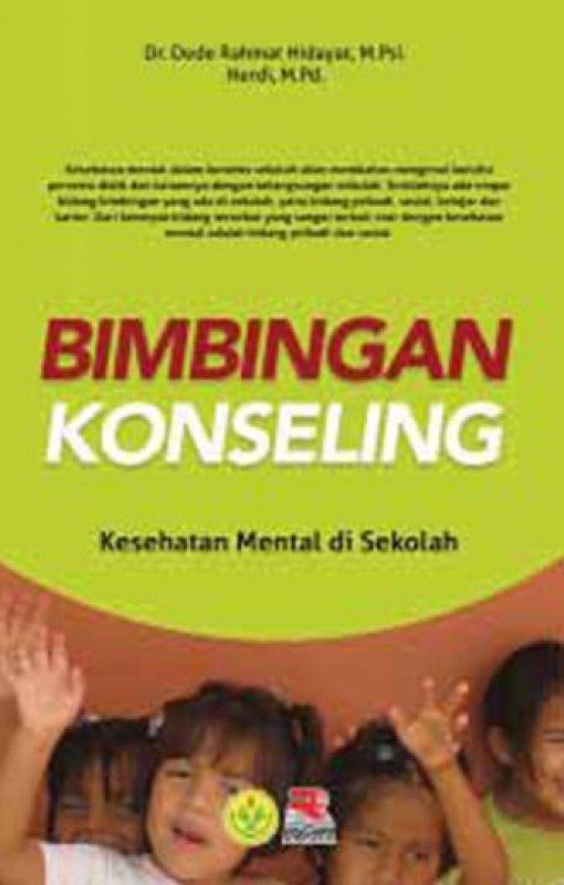 Cover Buku Bimbingan Konseling Kesehatan Mental di Sekolah