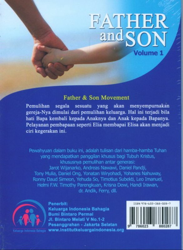 Cover Father and Son Volume 1