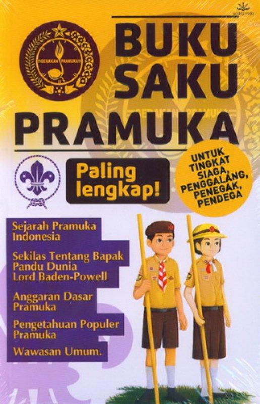 Cover Buku Buku Saku Pramuka