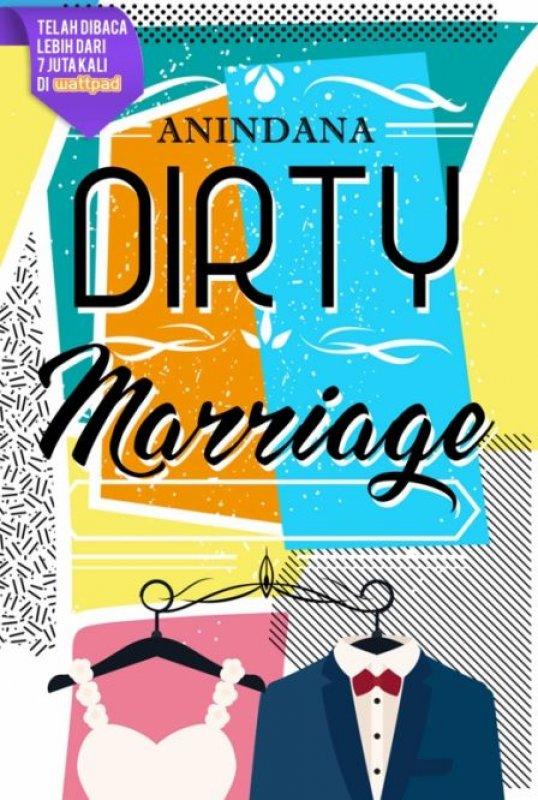 Cover Buku Dirty Marriage