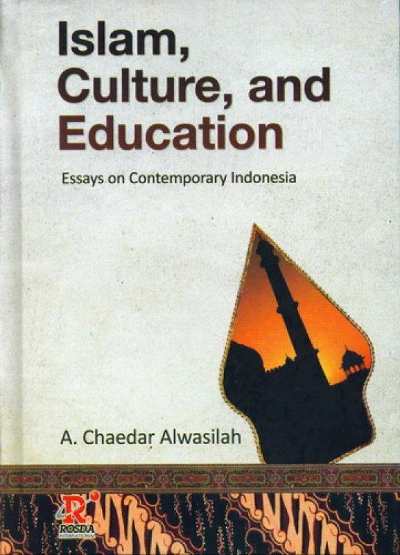 Cover Buku Islam. Culture and Education [HC]