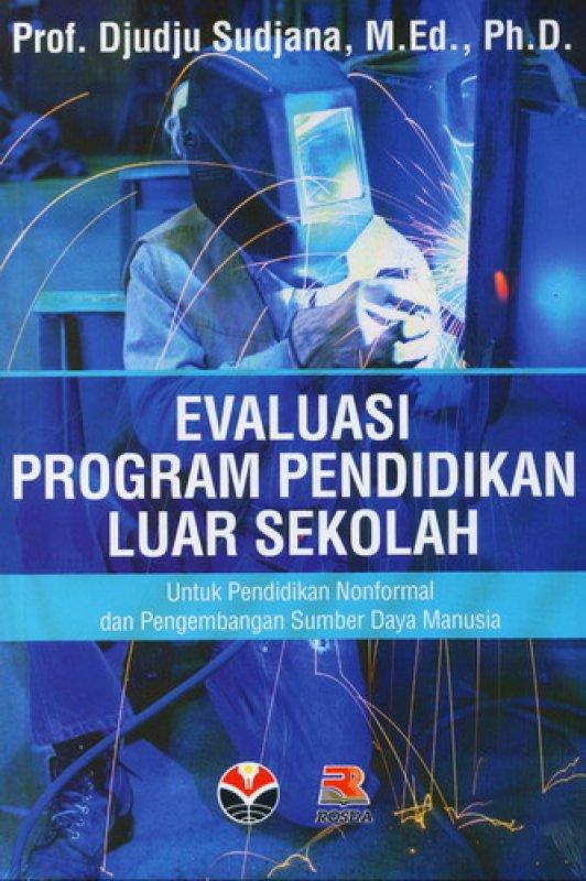 Cover Buku Evaluasi Program Pendidikan Luar Sekolah