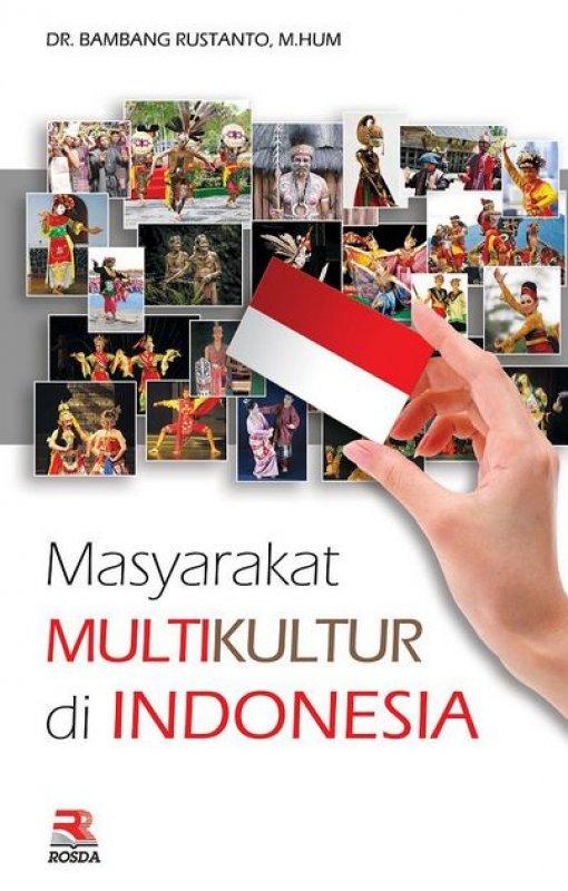 Cover Buku Masyarakat Multikultur di Indonesia