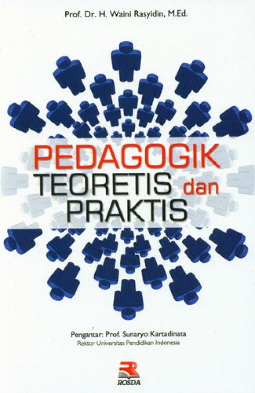 Cover Buku Pedagogik Teoretis Dan Praktis