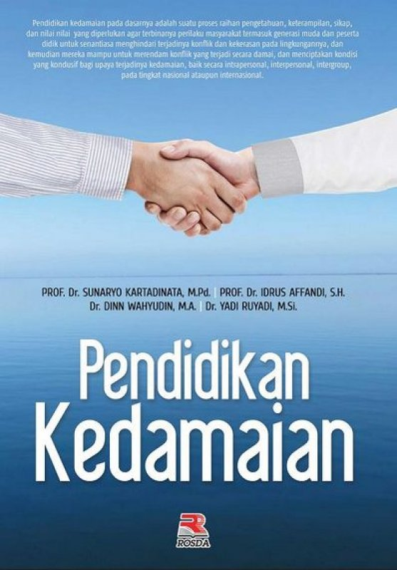 Cover Buku Pendidikan Kedamaian
