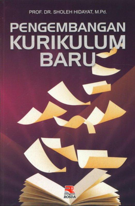 Cover Buku Pengembangan Kurikulum Baru