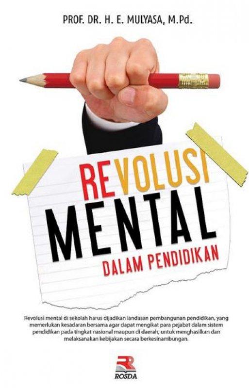 Cover Buku Revolusi Mental dalam Pendidikan
