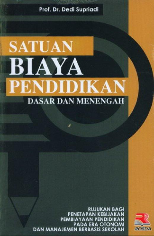 Cover Buku Satuan Biaya Pendidikan