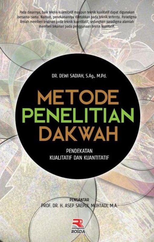 Cover Buku Metode Penelitian Dakwah Pendekatan Kualitatif dan Kuantitatif