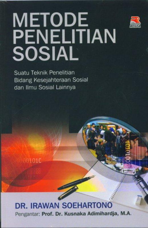 Cover Buku Metode Penelitian Sosial