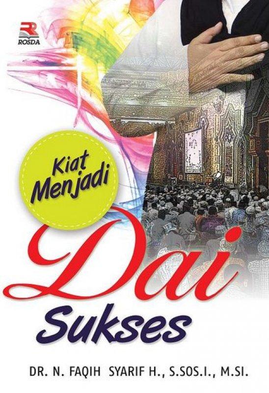 Cover Buku Kiat Menjadi Dai Sukses
