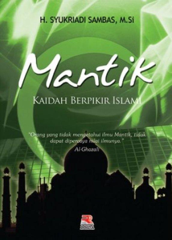Cover Buku Mantik Kaidah Berpikir Islami