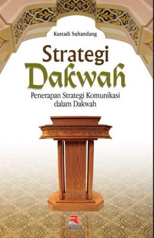 Cover Buku Strategi Dakwah: Penerapan Strategi Komunikasi dalam Dakwah