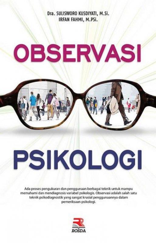Cover Buku Observasi Psikologi